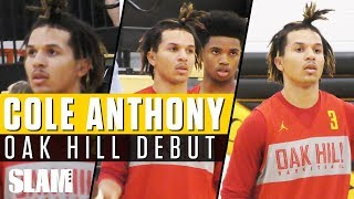 cole-anthony-goes-off-for-26-in-oak-hill-debut-slam-highlights