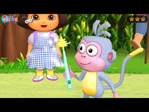 Dora Exploradora | The Wizard Of Green Castle | Aventureira | ZigZag Kids HD