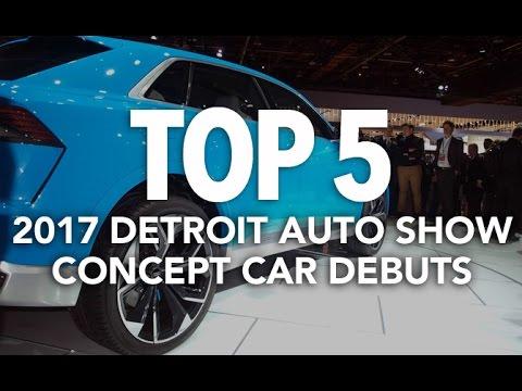 Top 5 Concept Car Debuts of the 2017 Detroit Auto Show