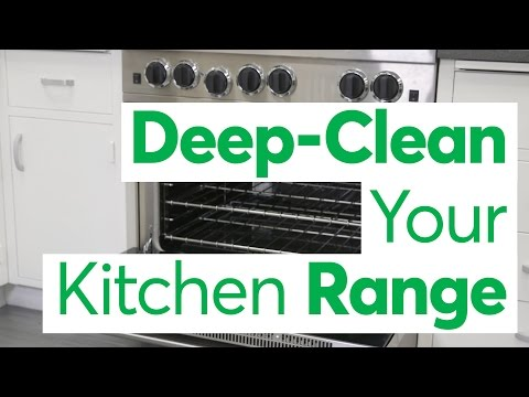 Make Your Kitchen Range Look Like New Again With This Cleaning Regimen