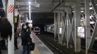 E233系 中央本線(中央快速線) 西国分寺駅 通過