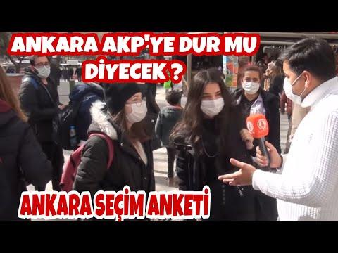 Ankara AKP'ye Dur mu Diyecek ! Ankara Cumhurbaşkanlığı Seçim Anketi