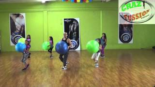 uptown funk crazyball kids