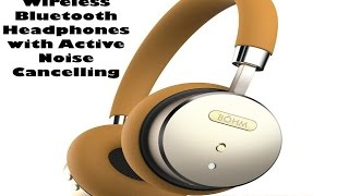 BÖHM Wireless Bluetooth Headphones with Active Noise Cancelling Review