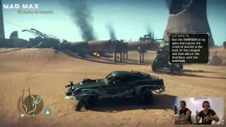 Mad Max Gameplay Gamescom 2015