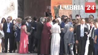 Matrimonio Laura Chiatti e Marco Bocci: la cerimonia tra vip e curiosi