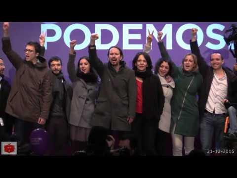 Podemos El pueblo unido jamás será vencido per il grande risultato elettorale