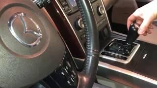 замена масла в АКПП / Mazda CX9 щуп!