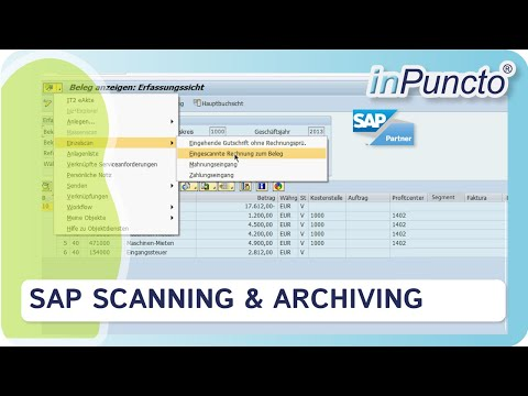 SAP scanning and archiving with biz² Scanner