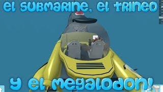 DAS U-BOOT, DIE TRINEO UND DIE MEGALODON! Roblox: Spanischer Sharkbite