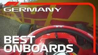Best Onboards | 2018 German Grand Prix