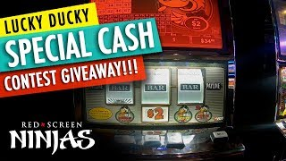 VGT SLOTS - LUCKY DUCK SLOTS FEATURING RED SCREENS & CASH CONTEST GIVEAWAY!