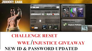 89.JOHNNY CAGE CHALLENGE RESET WWE IMMORTALS & INJUSTICE GIVEAWAY