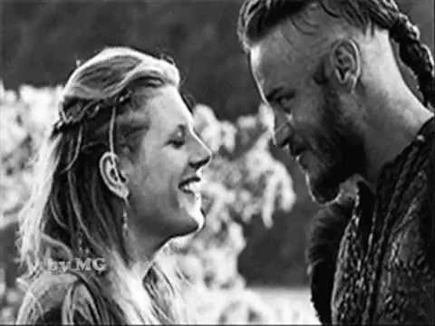 Ragnar and Lagerta - Vikings(TV series)