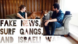 Israeli War, Surf Gangs, and Fake News with Noah Smith - 1