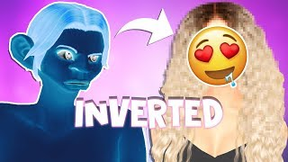 INVERTED Ugly to BEAUTY challenge.. HELP ME ✧ The Sims 4