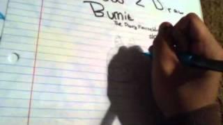 How To Draw Burnie: The Firrey Frazzeldragon