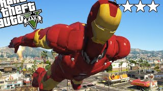 GTA 5 dar sunt IRON MAN!