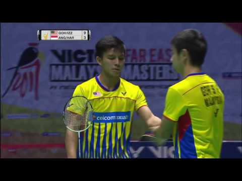 Victor Far East Malaysia Masters 2017 | Badminton F M4-MD | Goh/Izz vs Ang/Har