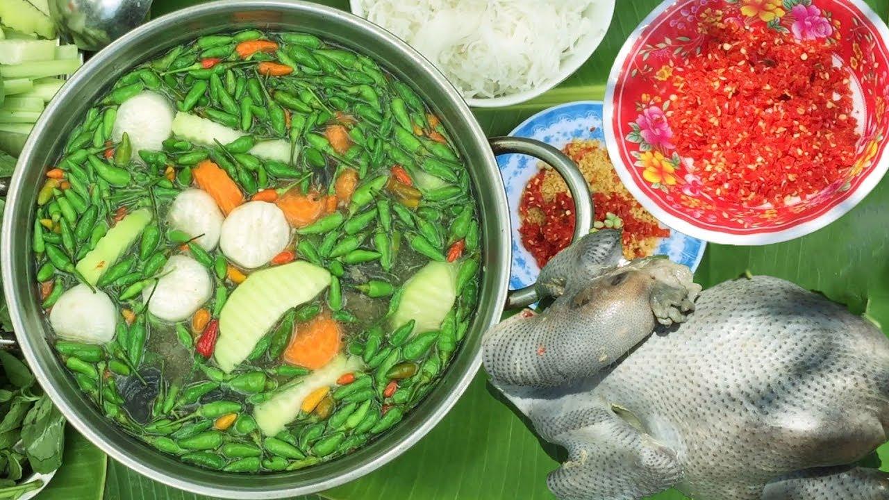 Lẩu Ớt Hiểm SIÊU CAY – Nấu Gà Ác Kiểu Này Ngon Nhứt Nách