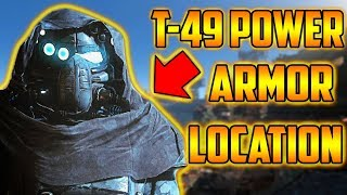 Fallout 4 T-49 Power ARMOR MOD LOCATION (XBOX 1)