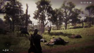Getting Wrecked in Red Dead Redemption 2