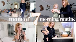 MOM OF 7 KIDS MORNING ROUTINE