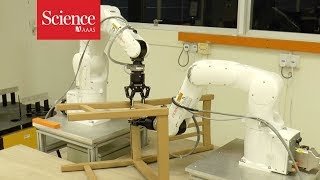 Can this robot build an IKEA chair faster than you?