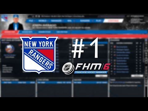 Franchise Hockey Manager 6 (FHM6) - New York Rangers Ep. 1