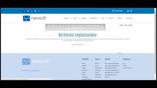 Assistenza Newsoft: Creare un account utente