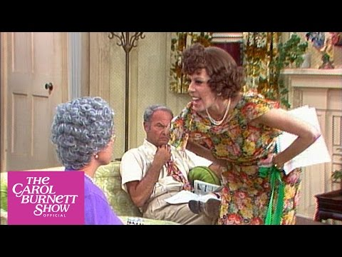 The Family: The Rehearsal From the Carol Burnett Show (Full Sketch)