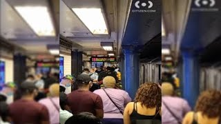 Man killed by train after intervening in fight at Harlem station