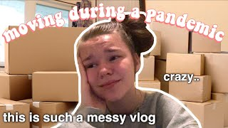 moving out of my childhood home (pack with me + house tour)