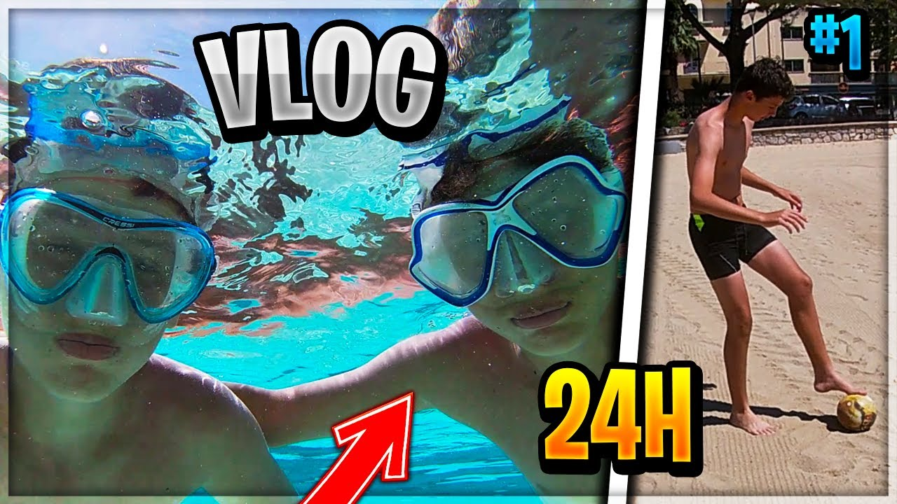 24H AVEC NOUS EN VACANCE ! Vlog #1 !