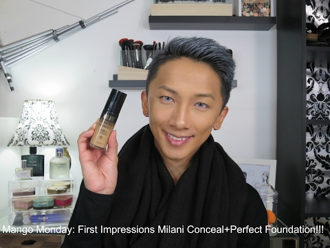 Mango Monday: First Impressions Milani Conceal+Perfect Foundation