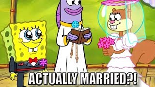 Spongebob & Sandy Are Actually Married | Cartoon Conspiracy Theory