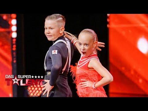Elias und Angelina tanzen wie zwei Profis | Das Supertalent 2017 | Sendung vom 02.12.2017