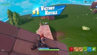 Fortnite Solo Victory 303 [5 Kills] ft. Black Widow Skin