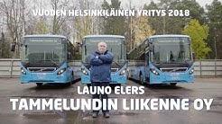 Vuoden 2018 helsinkiläinen yritys: Tammelundin Liikenne Oy