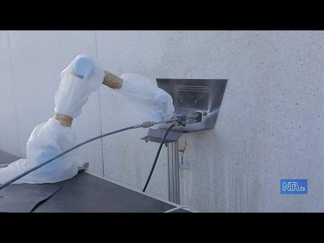 Primi test robot