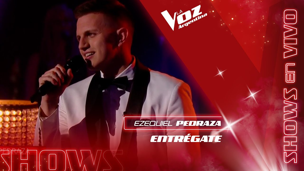 "Ezequiel Pedraza - ""Entrégate"" - La gran final – La Voz Argentina 2021"