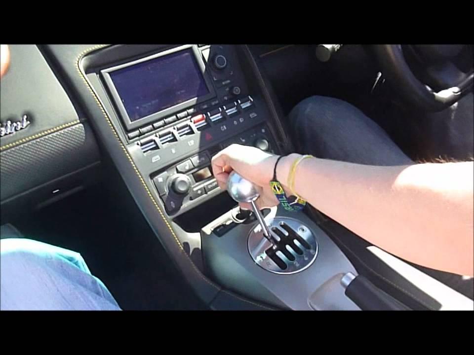 Lamborghini gear shift