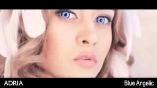 Crazy Blue Angelic голубые ангельские глазки, цветные линзы Adria(Линза создает эффект «Ангельские глазки». Подходит для светлых и темных глаз. Подробное описание свойств..., 2014-12-08T03:33:39.000Z)