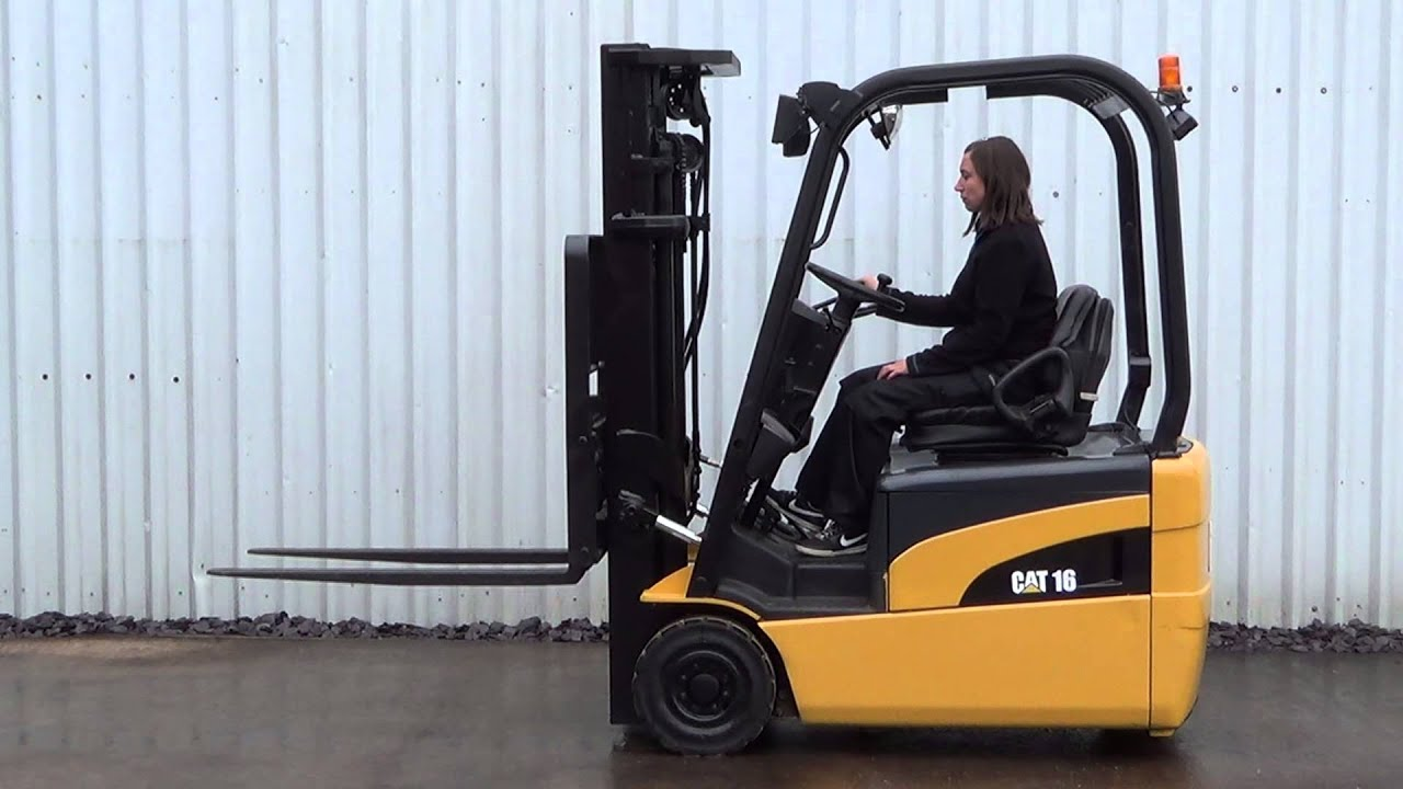 CATERPILLAR EP16NT ELECTRIC FORKLIFT TRUCK 1600KGS