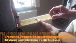 Introduction to internal insulation: a visit to three homes