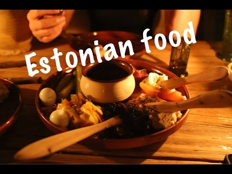 A feast of Estonian food in Tallinn