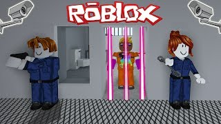 INSAPES IN ROBLOX ESCAPE PRISON!