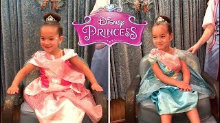 The twins Transform into Real Princesses