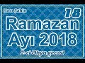 Hacı Şahin Ramazan Ayı Söhbəti 18 2 Ci Əhya Gecəsi 05 06 2018 mp3
