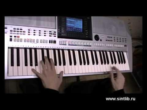 Pakito - Living on video игра на синтезаторе